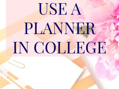 "As a college student, you need a #planner to stay organized! This post will teach you how to utilize the color code method, what to do with your syllabus the moment you get it, and more. | ""How to Effectively Use a Planner"" 