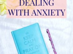 Bible Verses For Dealing With Anxiety and Fear by Desire Anne; Alabama blogger | #Faith #Christianity #BibleStudy