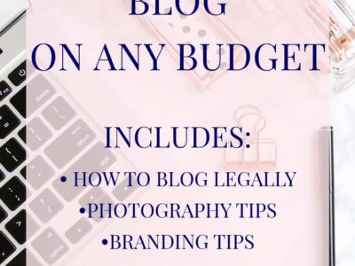 How to Have a Professional #Blog on Any Budget, whether you're on a self-hosted blog or on free #WordPress or #Blogger | A checklist of free and paid resources is included | by Desire Anne; Alabama fashion/beauty blogger | includes how to blog legally, #blogphotography tips, how to take your own headshots, #branding and sidebar tips, and more | #blogging #bloggingtips
