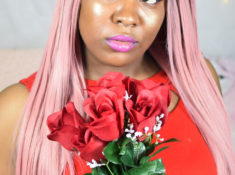 Desire Anne, Mobile, Alabama fashion, beauty, lifestyle, gaming blogger Simple Glam Valentines' Date Night Look #makeup