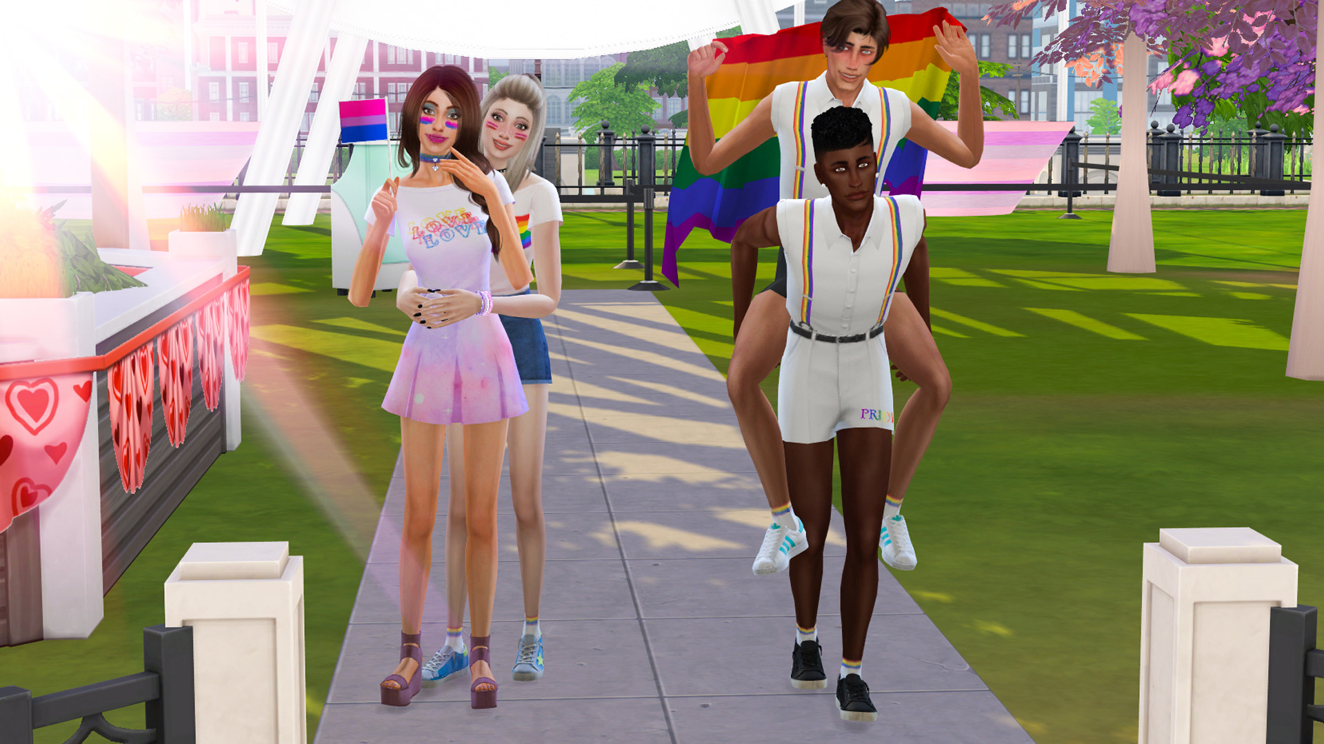 Sims 4 Pride CC Finds: Clothing & Room Items | Desire Anne Gaming
