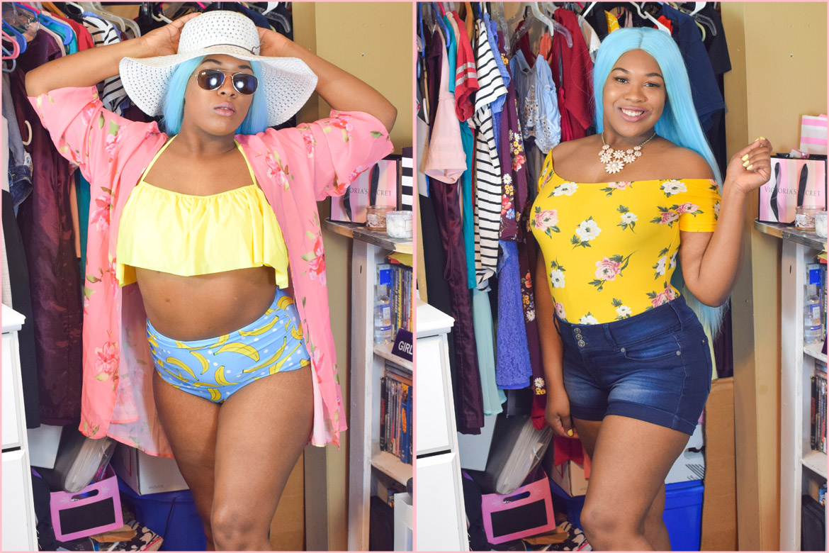 Summer Lookbook 2019 | High Waisted Plus-Size bikini, bodysuits, rompers, kimono and more | Desire Anne, Alabama fashion+beauty+gaming blogger and YouTuber