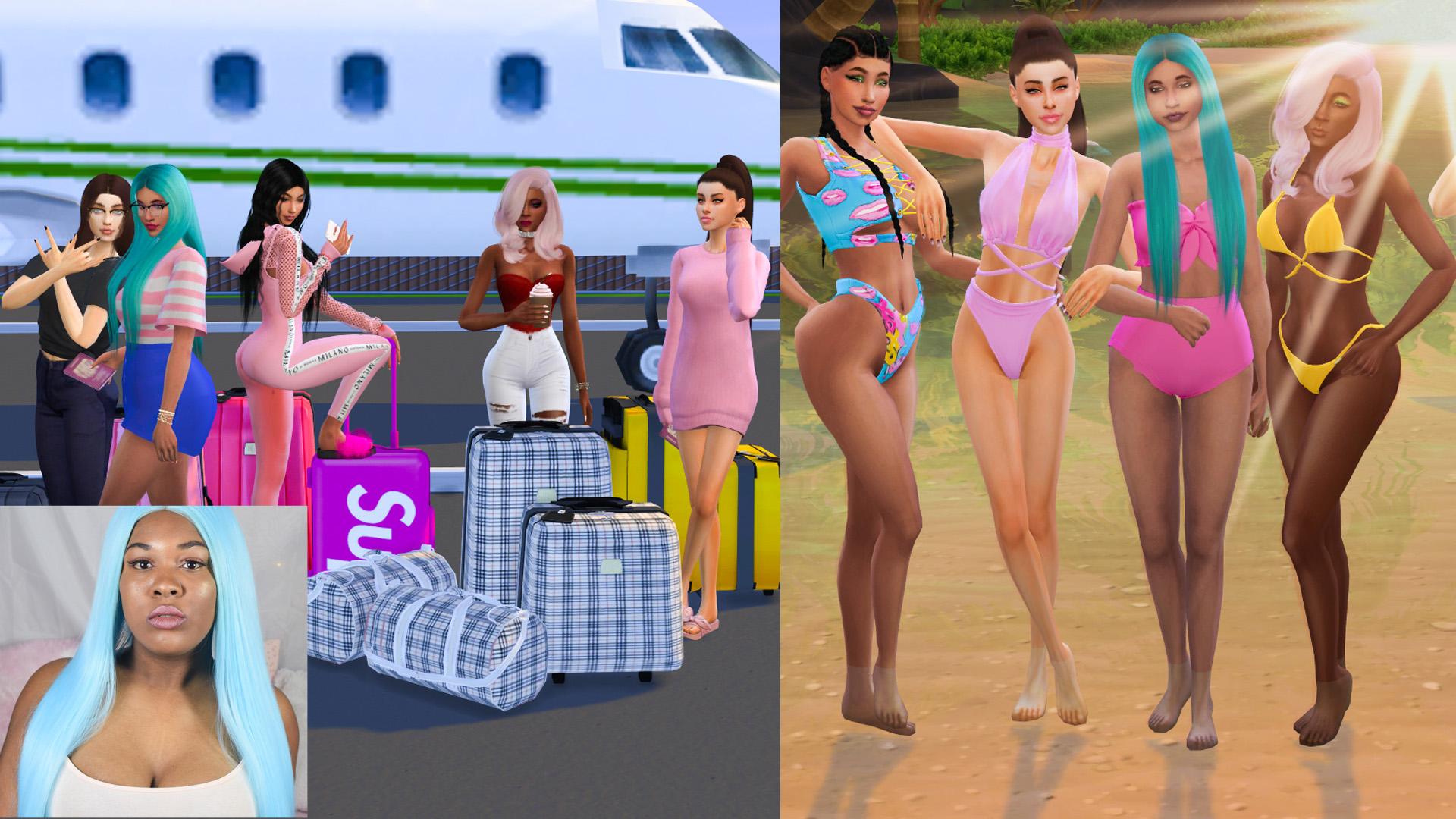 Sims 4 CC Custom Content Haul | Sulani bound! | Swimwear, beachwear, summer hot weather clothing, etc | Island Living expansion pack | Desire Anne Gaming