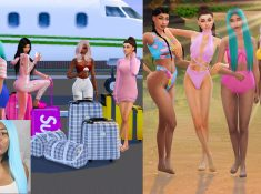 Sims 4 CC Custom Content Haul | Sulani bound! | Swimwear, beachwear, summer hot weather clothing, etc | Island Living expansion pack | Desire Anne Gaming