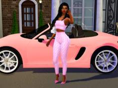 Sims 4 CC Custom Content Haul | College Sugar Baby Lookbook | Desire Anne Gaming