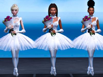 Sims 4 CC Custom Content Haul | Ballerina Ballet Student Lookbook | Ballerina Machinima | Desire Anne Gaming