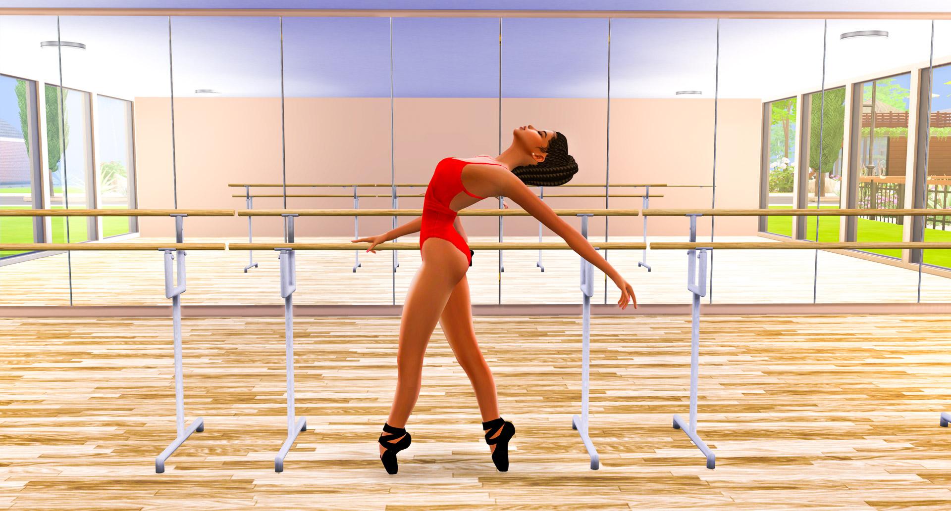 Sims 4 CC Custom Content Haul   Ballerina Ballet Student Lookbook   Ballerina Machinima   Desire Anne Gaming