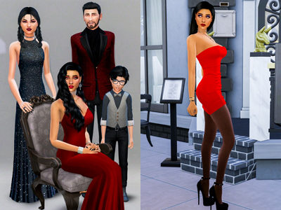 Sims 4 CC Custom Content Haul   Bella Goth Makeover   Goth Family makeover #ts4cc   Desire Anne Gaming
