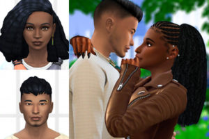 Sims 4 CC Custom Content Haul | Bess Sterling and Jules Rico Makeover #ts4cc #sims4cc | Desire Luxe Gaming